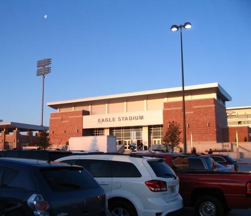 Front of Eagle Stadium