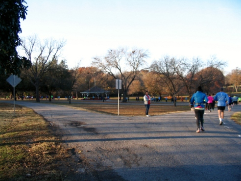 Going Along Edge of Finch Park