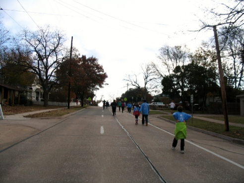 The Final Stretch Along Louisiana Street
