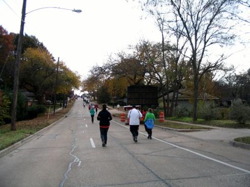 The Final Stretch Along Louisiana Street